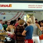Iberia cumple los servicios mínimos