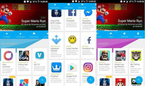 tiendas app android